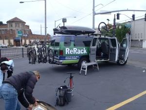 ReRack van maiden voyage