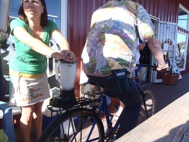 Bike Powered Margaritas!