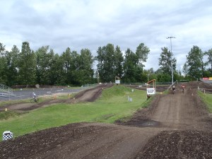 Infield motocross course