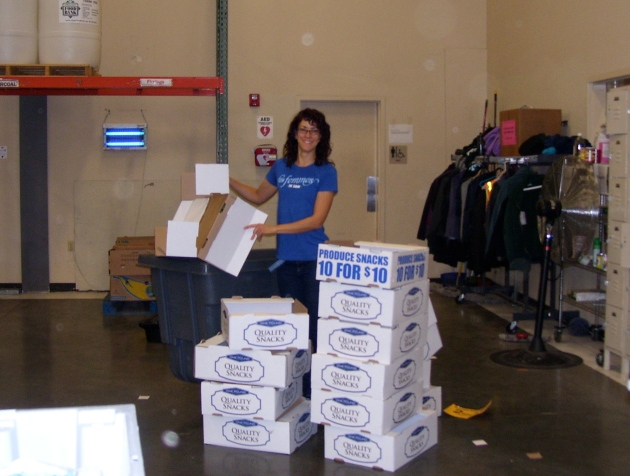 Mielle Breaking Down Boxes