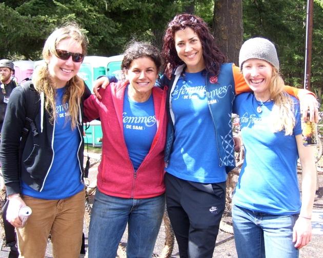 Katie, Melissa, Mielle and Deanna